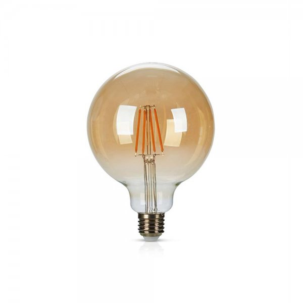 Markslöjd Filament LED-Lampa 125mm E27 6W Dimbar