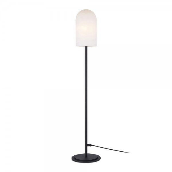 Markslöjd Afternoon Golvlampa 1L Large Svart/Vit IP44