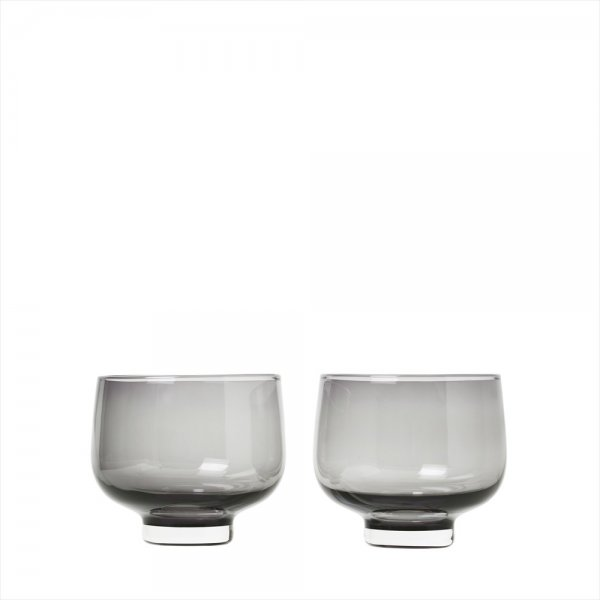Blomus FLOW Set 2 Tumblerglas Smoke