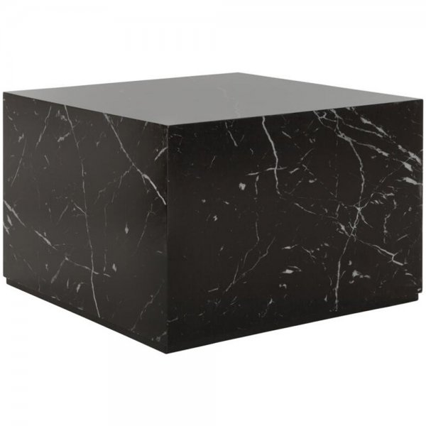 MUST Living Soffbord/Puff 60x40cm Cube Medium Marmorlook
